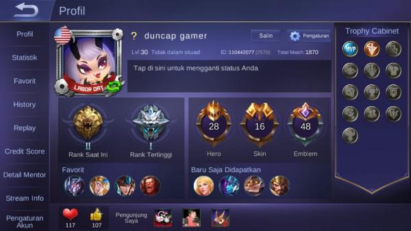 Master/hero 28/skin 16/murah gann