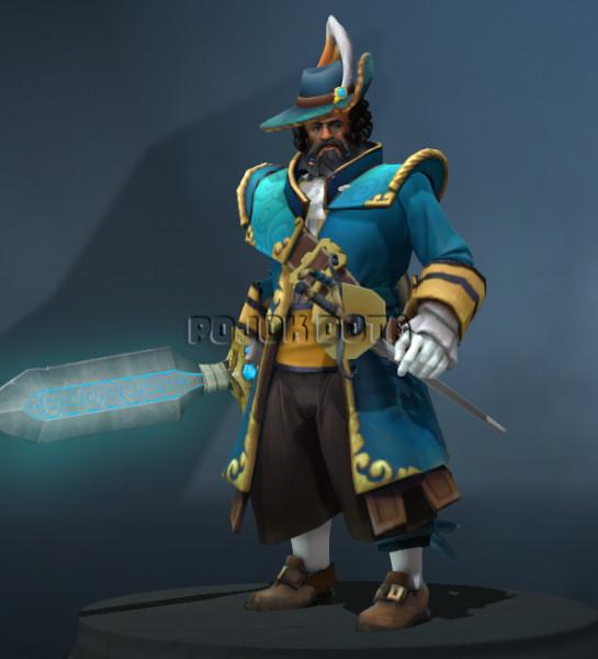 The Admirable Admiral (Kunkka Set)