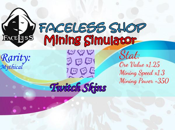 Twitch Skins Mining Simulator