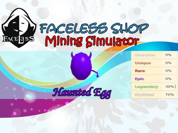 Haunted Egg Mining Simulator