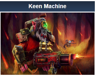 Keen Machine (Sniper Set)