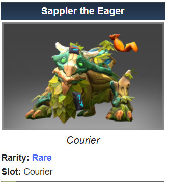 Sappler the Eager (Courier)