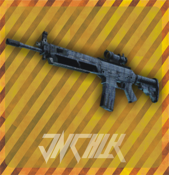 SG 553 | Waves Perforated