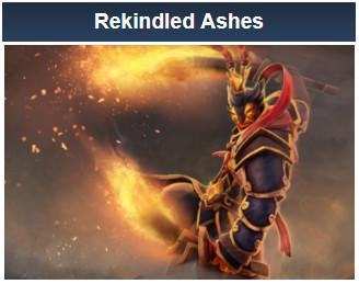 Rekindled Ashes (Ember Spirit Set)