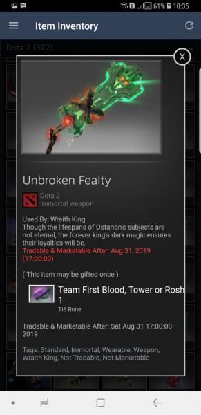 Unbroken Fealty