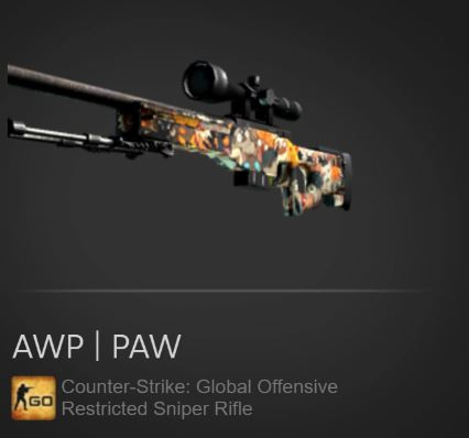 AWP | PAW (Restricted Sniper Rifle)