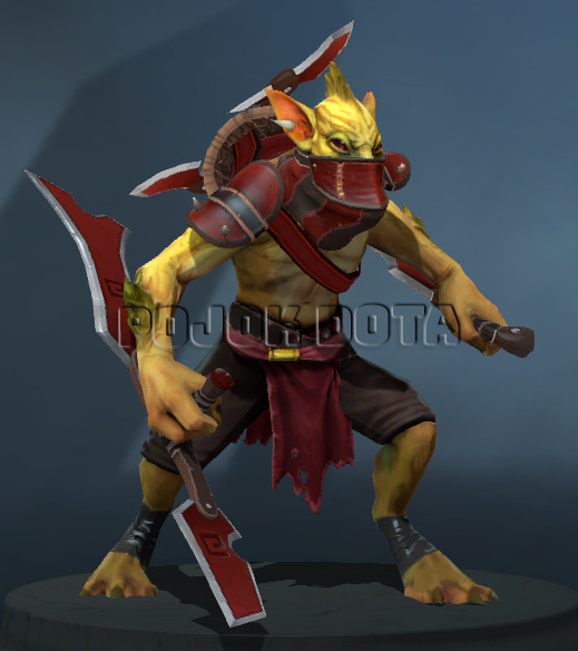 The Crimson Cut-throat (Bounty Hunter Set)