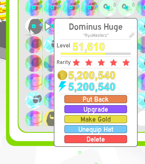 Dominus Huge (DH) - Pet Simulator