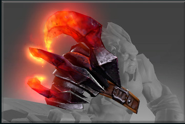 Genuine Molten Claw (Immortal Axe)