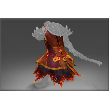 Infused Tunic of the Wandering Flame (Ember Spirit)