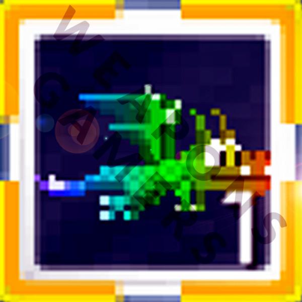 Ethereal Rainbow Dragon