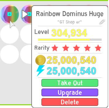 1 Rainbow Dominus Huge (Pet Simulator)