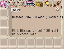 Blessed Pink Diamond (BPD) 100% Chance +9 - +12