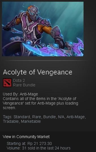 Acolyte of Vengeance (Anti-Mage Set)