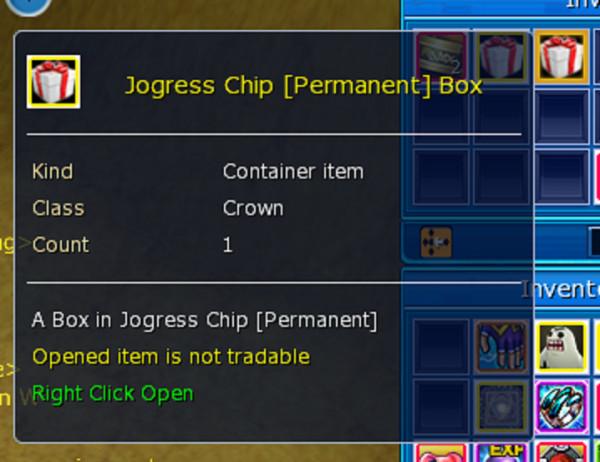 Joggress Chip Permanent