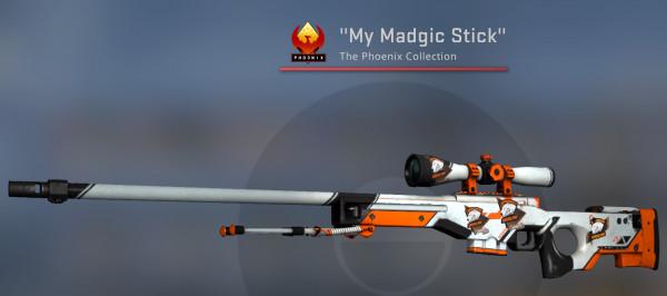 AWP | Asiimov (Covert Sniper Rifle)