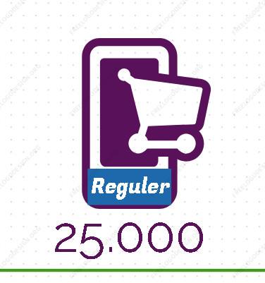 INDOSAT 25.000 / INDOSAT 25000 / IM3 25.000