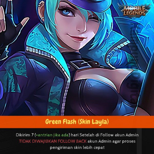 Green Flash (Skin Layla)
