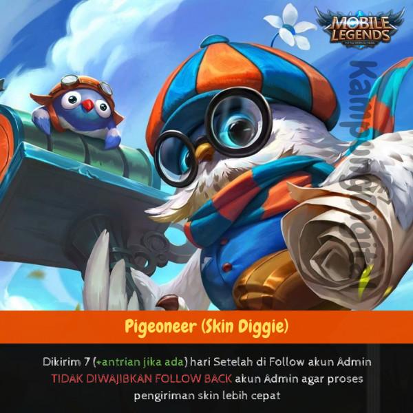 Pigeoneer (Skin Digger)