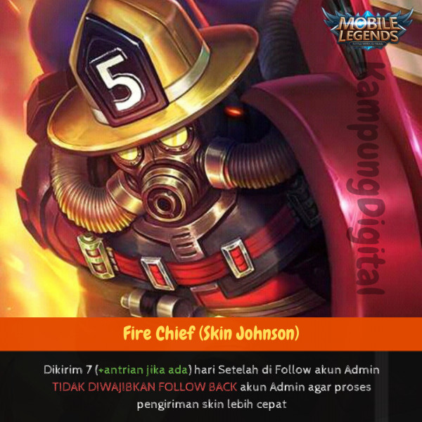 Fire Chief (Skin Johnson)