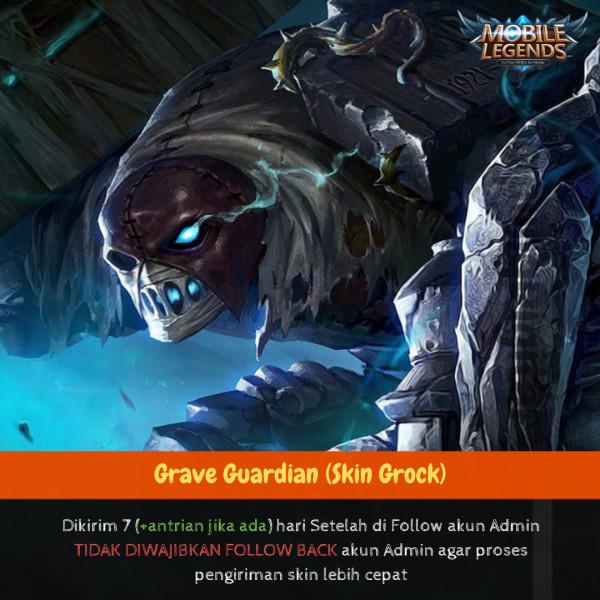 Jual Grave Guardian Skin Grock Mobile Legends Dari Kampungdigital