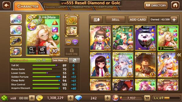 Maia + Demeter + Estelle + Monk XuanZang dkk