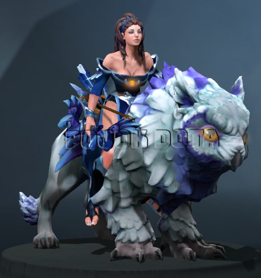 Garments of the Nightsilver Sentinel (Mirana Set)