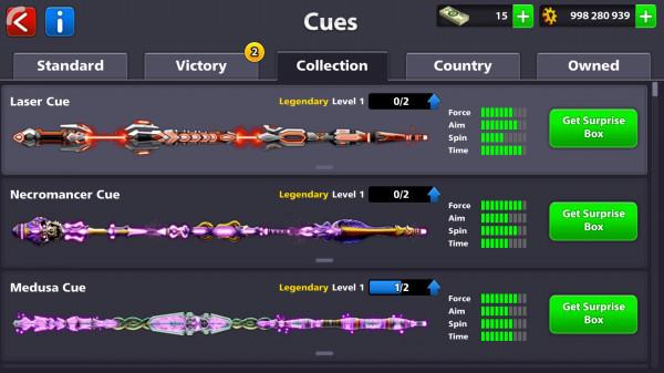 Akun legendary 4 Otw 7