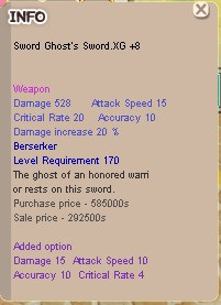 Ghost Sword OPSI Dewa