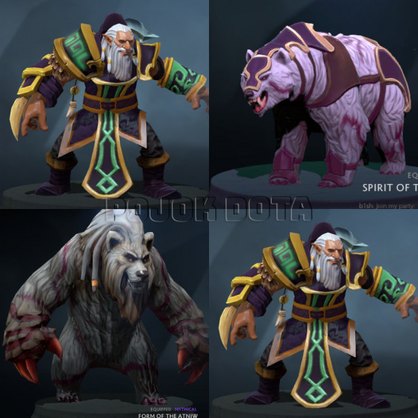 The Atniw's Fury (Lone Druid Set)
