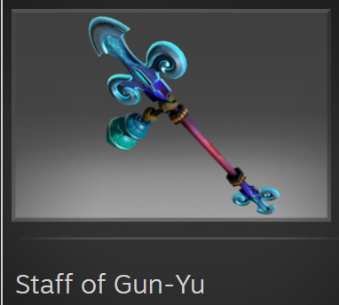 Staff of Gun-Yu (Immortal TI7 Monkey King)