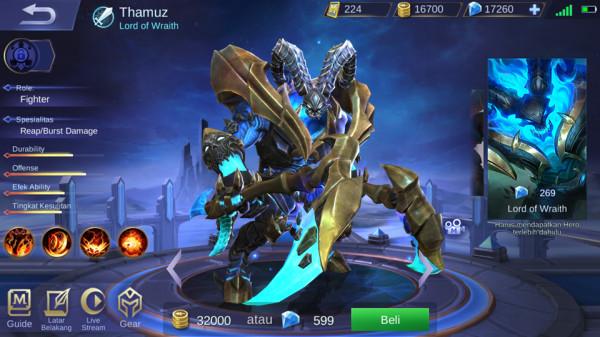 Lord of Wraith (Skin Thamuz)