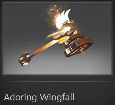 Adoring Wingfall (Immortal Omniknight)