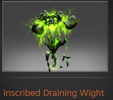 Inscribed Draining Wight (Immortal Pugna)