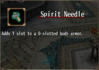Spirit Needle