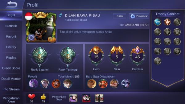 Akun epic smurf murah