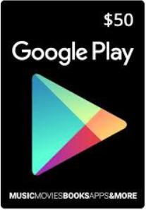 Google Play Voucher 50$