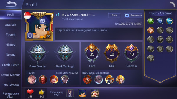 Hero 36 Skin 18 | SL Irithel Elite Fanny All Unbind