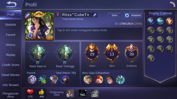 Hero 29 Skin 13 | SL Martis Elite Fanny | All Unbind