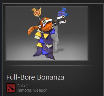 Full-Bore Bonanza (Immortal TI7 Sniper)