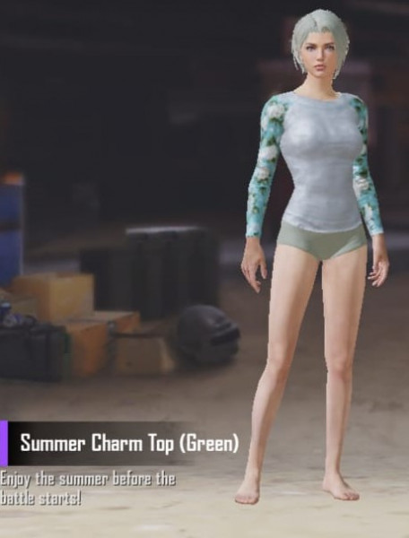 Summer Charm Top (Green)
