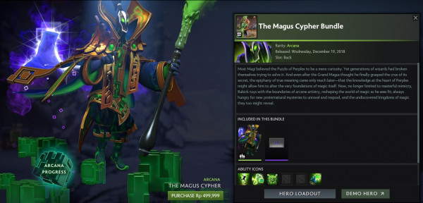 Exalted The Magus Cypher Bundle (Arcana Rubick)