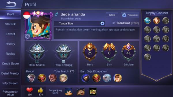 Hero 25 Skin 8|All Unbint|Lvl 30 Max