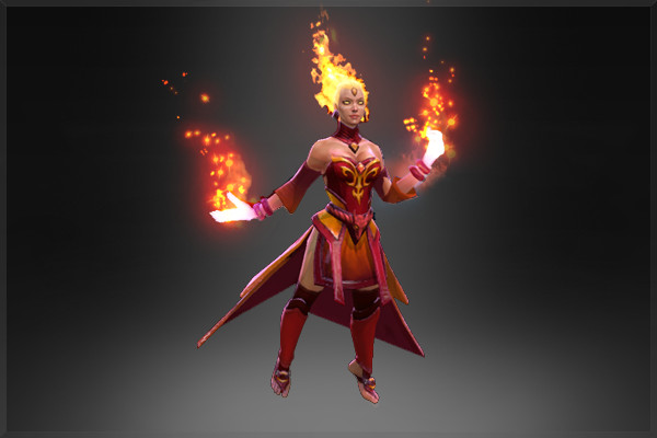 Fiery Soul of the Slayer (Arcana Lina)
