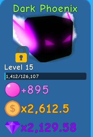 Lev15 Dark Pheonix | Buble Gum Simulator