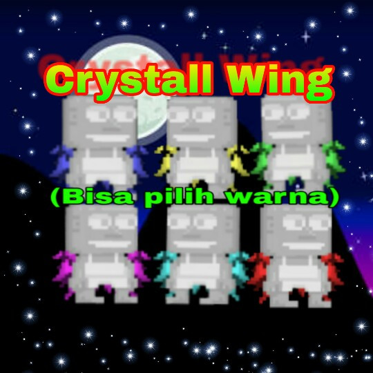 Crystal Wing (Pilih Warna)