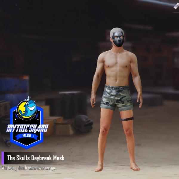 The Skulls Daybreak Mask (Permanent)