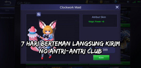 Clockwork Maid (Elite Skin Nana)