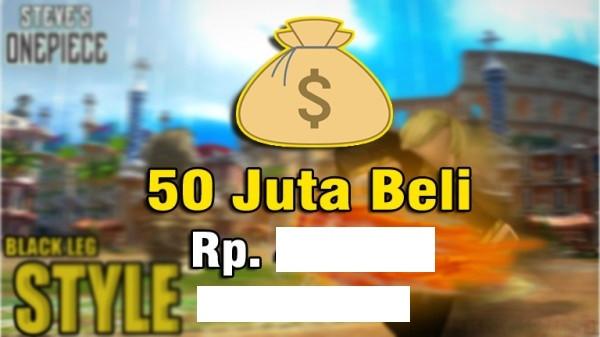 Roblox Steve One Piece 50JT