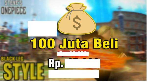 Roblox Steve One Piece 100JT
